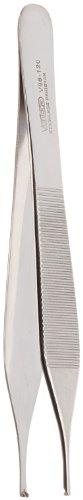 Integra Miltex Vantage Adson V96 120 Stainless Steel Mid Grade Tissue Forceps  4 75  Length  1 X 2 Teeth