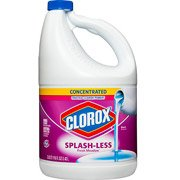 Clorox Splash-less Scented Bleach, Concentrated Fresh Meadow, 116 Fluid Ounces (1)