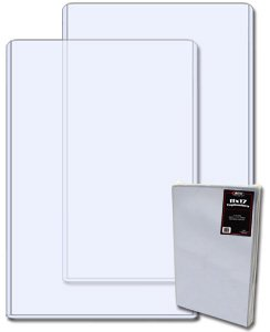 11 X 17 - Topload Holder (Qty= 1 case of 50) by BCW