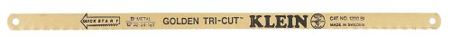 Klein Tools 1200BI 12-Inch Golden Tri-Cut Blade, 100-Pack by Klein Tools