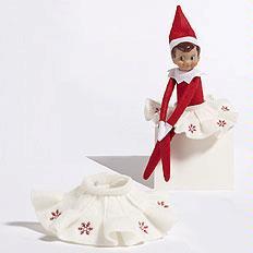 Thumbnail for Best Elf on the Shelf Girl Doll Skirt
