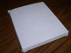 STANDARD JEWEL CASE CARDBOARD MAILER, WHITE, 250 PCS/CS JS7