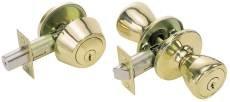 Kwikset 400T,660,3,K2,MK Tylo Combination Entry and Deadbolt Lockset with Adjustable Backset, Master Keyed, Polished Brass