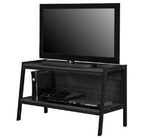 cheap for discount 38c49 55f16 Amazon.com: TV Stands Table Cabinet-Black Wood for up to 45 ...