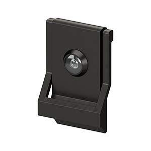 (Deltana DKMV4U10B - Modern Door Knocker W/VIEWER US10B)