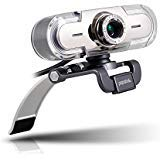 PAPALOOK PA452 Full HD 1080P Webcam PC Computer Camera with Colorful LED Lights