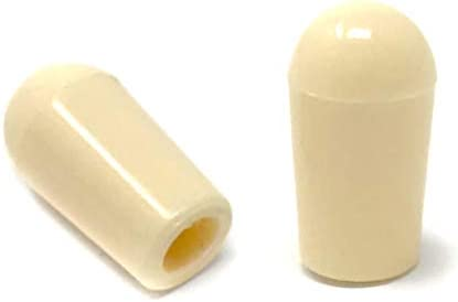 Ivory Plastic  Threaded Tip for Toggle Switch Metric