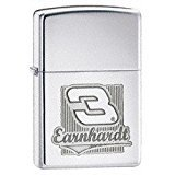 Zippo Dale Earnhardt- High Polish Chrome Lighter
