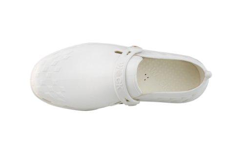 Nexo - Calzado de uso profesional WOCK - Antideslizante; Talón cerrado; Esterilizable; Absorción de impactos; Respirable Blanco/Blanco