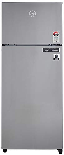 Godrej 260 L 4 Star   2019   Inverter Frost Free Double Door Refrigerator  RF GF 2604 PTRI Steel Yarn, Silver Atom