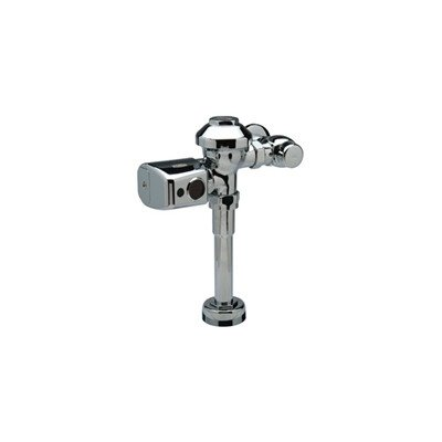 "Zurn ZER6001PL-CP Sensor Operated Battery Powered Flush Valve For 1-1/4"" Urinals"
