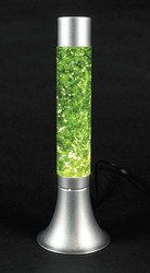 Fun Express GREEN GLITTER LAMP