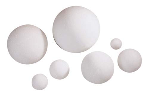 STYROFOAM Ball (Sell by CASE) (8''(12/CASE)) by OASIS Floral Products (Image #1)