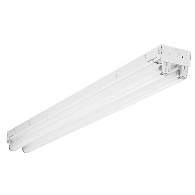 "Lithonia C217 MV General-Purpose Flourscent Strip, 24"", 2 Lamp, T8, 17W"