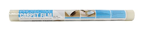 Trimaco Easy Mask Protective Film for Carpets, 2 mil, 24-inch x 50-feet
