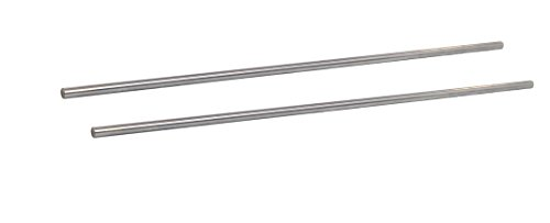 2-Pack - Linear Motion Rod 8 mm x 342 mm Shaft, 13.46 in (342 mm) Length, Chrome Plated, Case Hardened, Metric