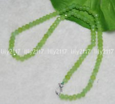 Peridot Faceted Rondelle Beads - 7