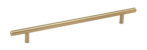 Amerock BP40519BBZ Bar Cabinet Pull, 10-1/16 in (256 mm) Center-to-Center, Golden Champagne