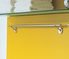 (Duravit 009751-10-00 Starck Rail Towel Bar)