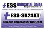 ESS-SB24KT, Silicone Based Air Compressor Lubricant, 5 Gallon, Sullair 02250051-153 Replacement by ESS