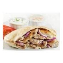 Grecian Delight White Bread Pita Pocket, 6 inch - 6 per pack -- 24 packs per case.