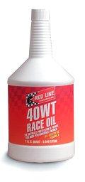 Red Line 40WT Race Oil - Quart (Case 12 Bottles) by Red Line Oil