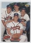 Greg Maddux; Steve Avery; John Smoltz; Tom Glavine (Baseball Card) 1993 Upper Deck - [Base] #472
