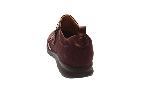Aubergine Clarks Basses Rouge 261360774 Femmes Chaussures aubergine rftqnx4rw