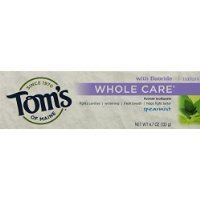 Tom's of Maine Whole Care Fluoride Toothpaste Spearmint,4.7oz..- 2 Count Thank you to all the patrons We hope that he has gained the trust from you again the next time - Maine Shopping