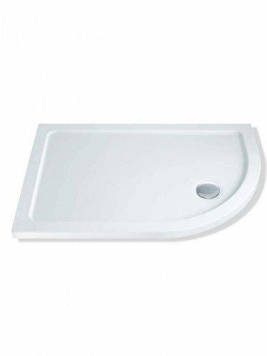 900x900mm MX Group Quadrant Elements Low Profile Flat Top Shower Tray