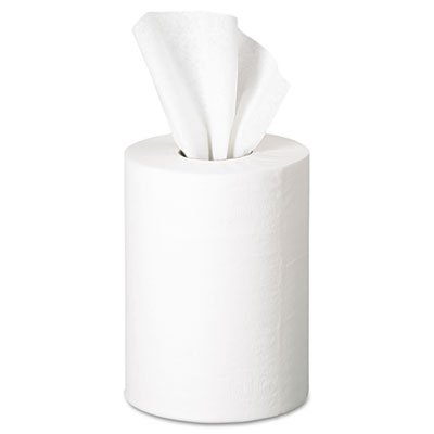 Soft, strong, absorbent. - GEORGIA PACIFIC * Premium Jr. Cap. Center-Pull Towel, 7.8 x 12, White, 275/Roll, 8 ()