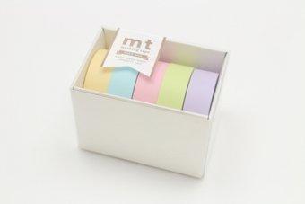 Tape Japan - MT Japanese Washi Masking Tape Gift box pastel 2 Tape Set MT05G007