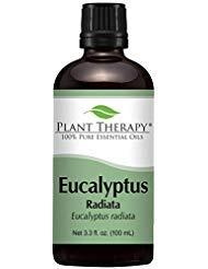 Plant Therapy Eucalyptus Radiata Essential Oil. 100% Pure, Undiluted, Therapeutic Grade. 100 mL (3.3 Ounce).