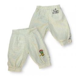 The Littlest Golfer's First Knickers for Boys - Light Blue/White Stripes - Size 3T