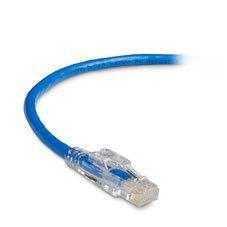 4-ft. Blue UTP 1.2-m GigaBase 3 CAT5e 350-MHz Lockable Patch Cable