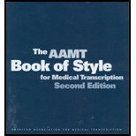 AAMT Book of Style for Medical Transcription (2nd, 02) by (AAMT), American Association for Medical Transcription [Paperback (2002)]