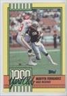 mervyn-fernandez-football-card-1990-topps-1000-yard-club-25