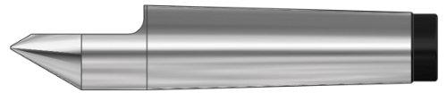 Röhm 13997 Type 668 Tool Steel Half Point Dead Center, Morse Taper 5, 44.7mm Point Diameter, 200mm Length by Röhm