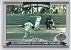 2004 Topps World Series Highlights - Carl Yastrzemski (Baseball Card) 2004 Topps - World Series Highlights #WS-CY