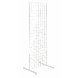 White Gridwall Rack, 24 x 24 x 72 (W x D x H) by Retail Resource