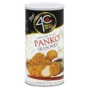 4C Japanese Style Panko Seasoned Bread Crumbs [Case Count: 12 per case] [Case Contains: 96 OZ ] by 4C Foods