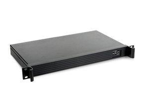 iStarUSA 1U Compact Server/Desktop mini-ITX Chassis (D-118V2-ITX-DT) ()