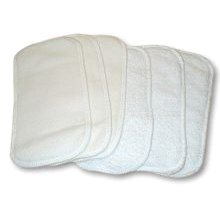 Nature Babies Fleece Terry Wipes Pack of 10