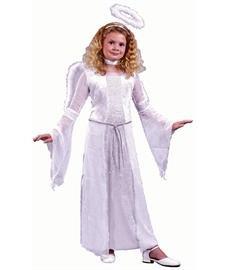 Heavenly Angel White Child Costume, (Boys Angel Nativity Costume)