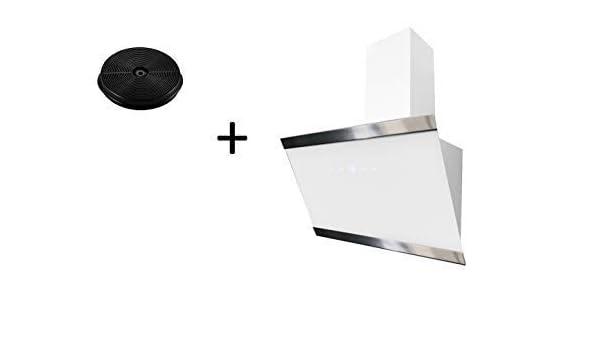 respekta CH88060WA+MIZ1000 - Campana extractora (60 cm, incluye filtro de carbón activo), color blanco: Amazon.es: Grandes electrodomésticos