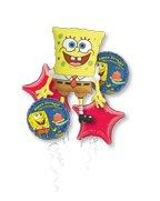 SpongeBob Balloon Bouquet - Party Supplies by Anagram