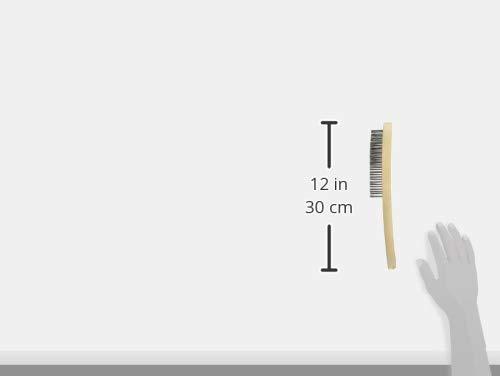 KS Tools KST-201.2310-E Edelstahl Handdrahtb/ürste 3-reihig auf H/änger 290 mm