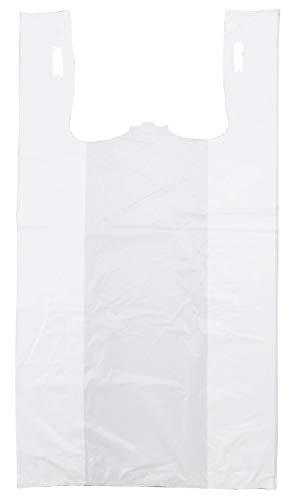 Plastic Bag-Standard White Plain T-Shirt Bag 11.5