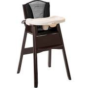 Eddie Bauer Classic 3-in-1 Wood High Chair Twilight Blue by Eddie Bauer