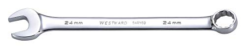 Full Polish Comb - Westward 54RY69 - Comb. Wrench 24mm Metric Full Polish ( Pack of 5 )